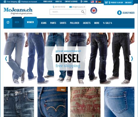 Screenshot McJeans