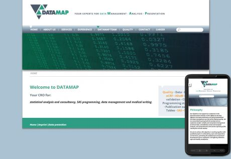 Screenshot DATAMAP GmbH